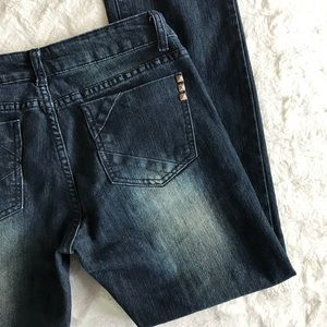 Kardashian Kollection The Kim Straight Leg Jeans